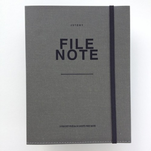 File Note A5 Grijs